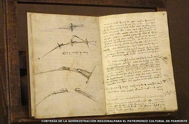 Dibujos y escritos de Leonardo da Vinci