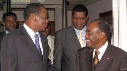 141103175630 compaore edemkodjo 512x288 afp L'Union africaine (UA) donne deux semaines à l'armée pour rendre le pouvoir aux civils. Larmée déclare ne pas être intéressée par le pouvoir