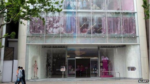 Tienda de Barbie en Shanghái
