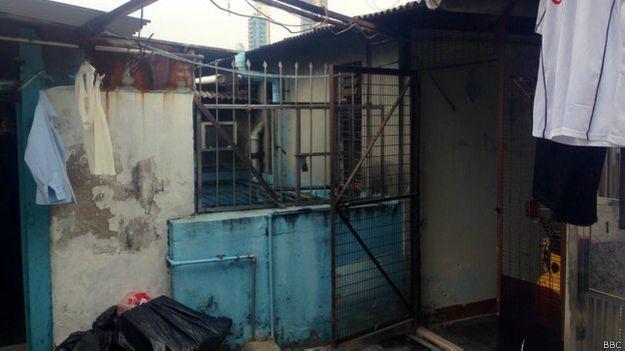 Favelas en azoteas de Hong Kong