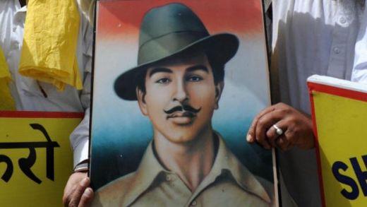 भगत सिंह की तस्वीर
