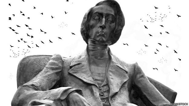 Estatua de Chopin en Polonia