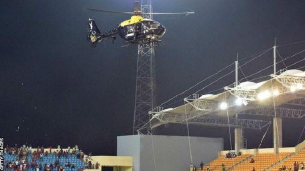 Helikopter Piala Afrika