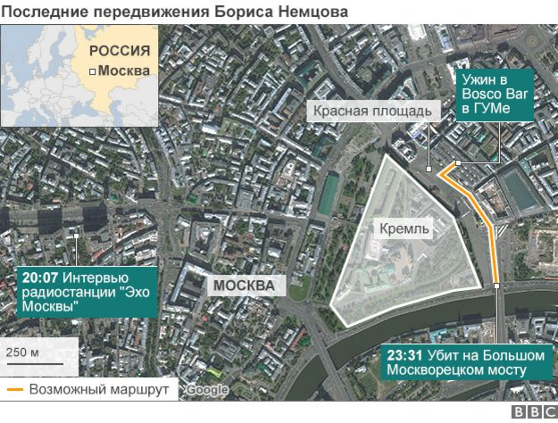 Москова Карта