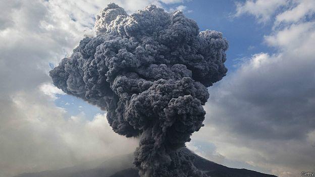 Вулкан Суматра