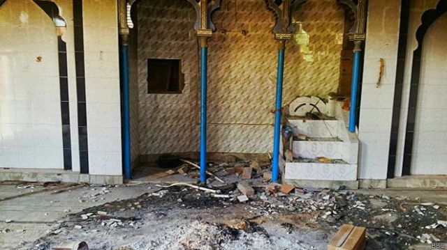 मुज़फ़्फरनगर दंगे के बाद एक घर