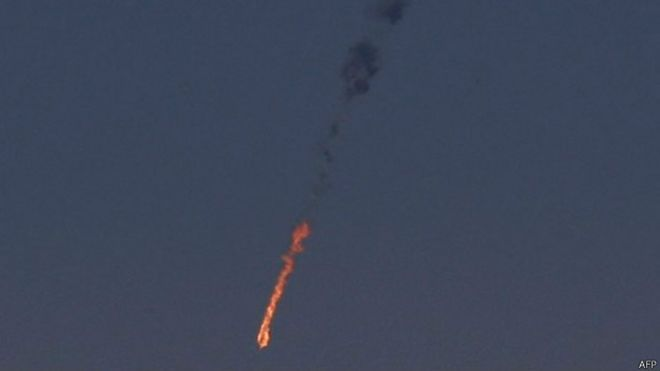 以色列在戈蘭高地擊落了一架敘利亞戰機