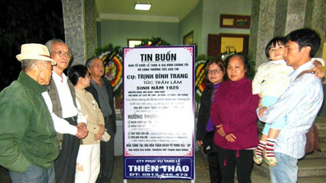 Đám tang Luật sư Trần Lâm