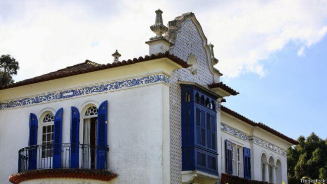 Edificio del centro de Petrópolis