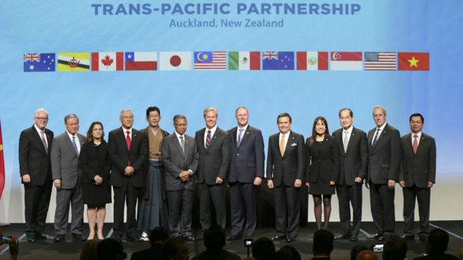 Ký kết TPP