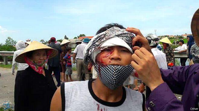Biểu tình ở Việt Nam phản đối Formosa