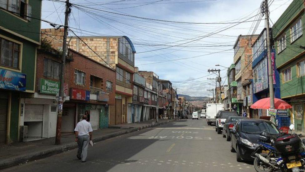 Barrio Salvador Allende en Colombia
