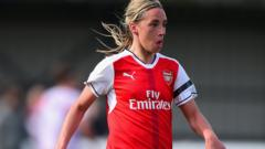 Jordan Nobbs of Arsenal