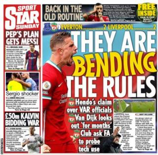 The Daily Star back page