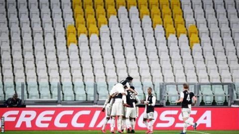 Juventus celebrate