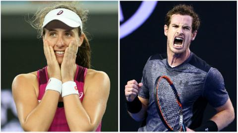 Image result for andy murray jo konta