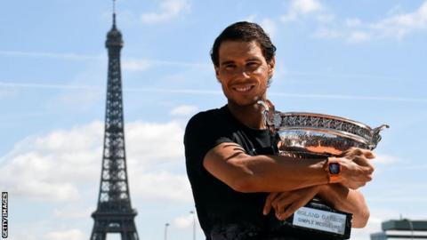 Rafael Nadal won his 10th Roland Garros title last year