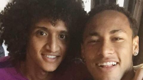 Omar Abdulrahman and Neymar