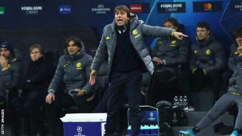 sport Inter Milan manager Antonio Conte