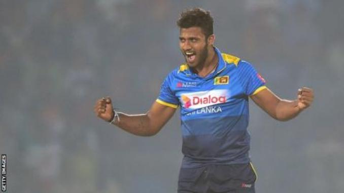 Sri Lanka bowler Shehan Madushanka banned after drugs arrest