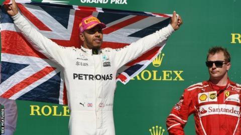 Lewis Hamilton and Kimi Raikkonen