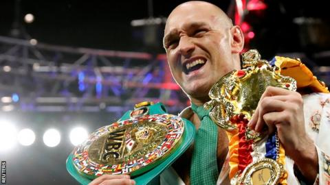 Tyson Fury became a world champion for the second time by beating Deontay Wilder in February