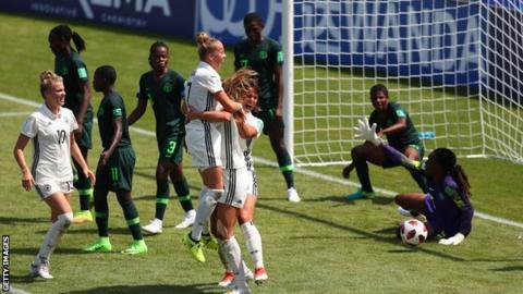 Germany v Nigeria