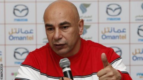 Al Masry coach Hossam Hassan
