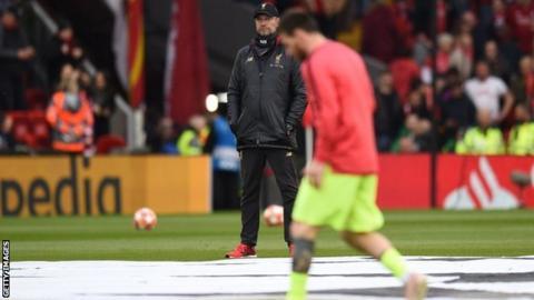 Jurgen Klopp and Lionel Messi