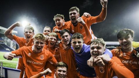 Blackpool youth team