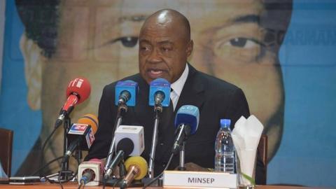 Cameroon Sports Minister Ismael Bidoung