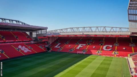 Liverpool's Anfield ground