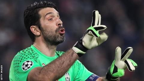 Juventus keeper Gianluigi Buffon wants to avoid Leicester