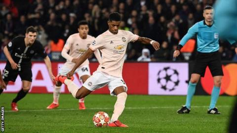 105921941 rashford getty - Manchester United Make History As They stunningly eliminated PSG From Champions League