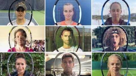 sport Behind The Racquet