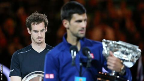 Andy Murray lost to Novak Djokovic in the 2016 final