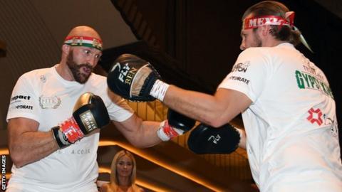 Tyson Fury and Ben Davison