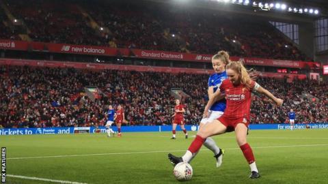 sport Liverpool Women at Anfield
