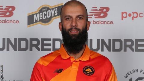 sport Moeen Ali in Birmingham Phoenix kit