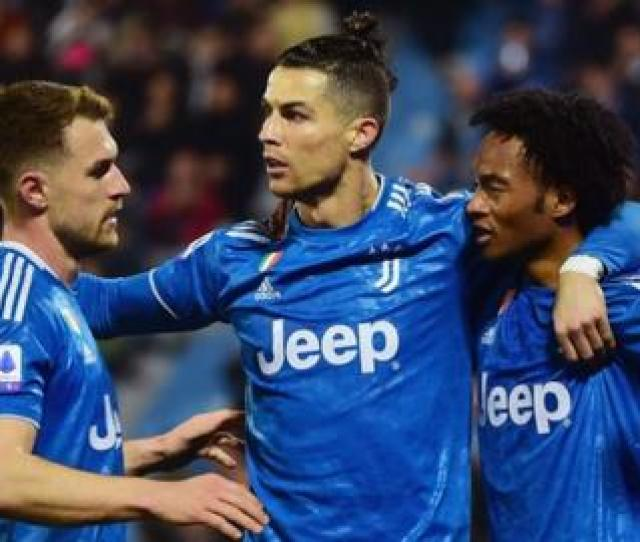 Spal   Juventus Cristiano Ronaldo Scores In Win To Equal Serie
