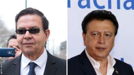 Rafael Callejas and Alfredo Hawit
