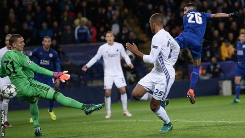 Mahrez scores for Leicester