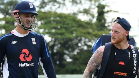 Alex Hales and Ben Stokes