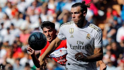 Gareth Bale has been a Real Madrid regular in La Liga this season but has been left out of some Champions League games