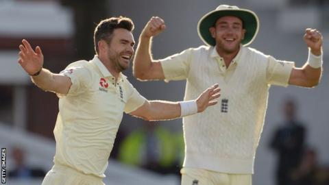 James Anderson and Stuart Broad