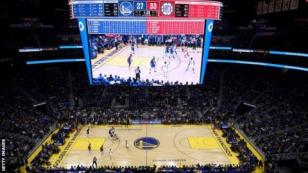 View of Golden State Warriors v LA Clippers