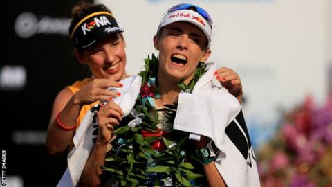 Lucy Charles-Barclay came second on her Ironman World Championships debut in 2017