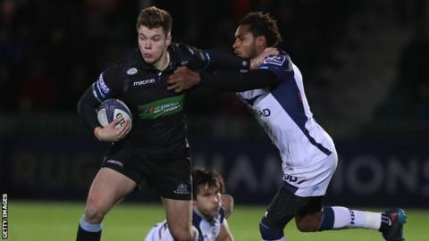 Image result for Champions Cup: Glasgow Warriors 22-29 Montpellier
