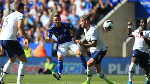 Leicester City's James Maddison