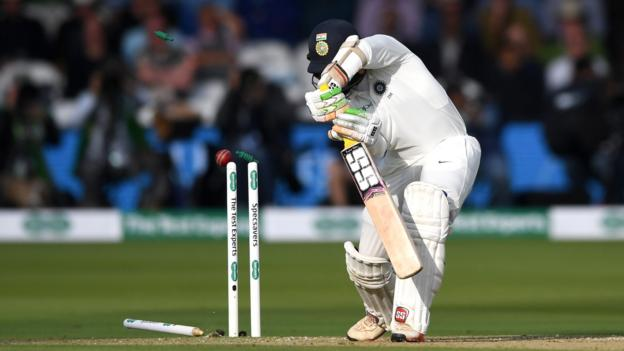 Anderson stars as India bowled out for 107 - highlights & report 1